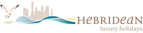 Hebridean Luxury Holidays Logo - Natural Retreats on the Isle of Lewis