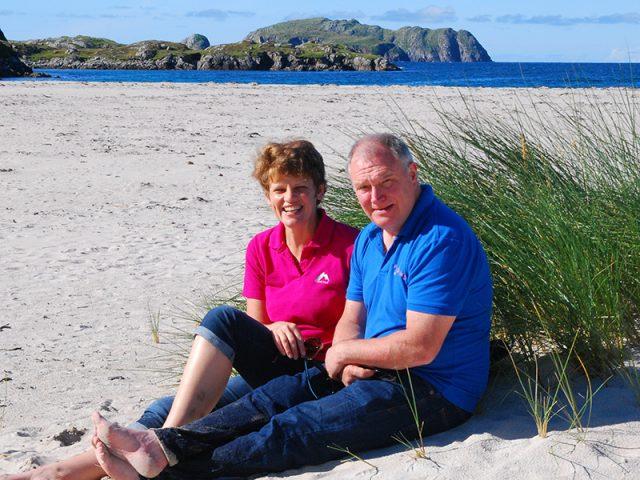 Graham and Adri McLellan