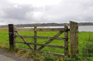 Sea view at Sandwick