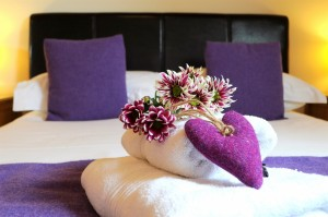 Romantic bedrooms at Iolaire